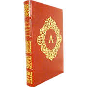 The Scarlet Letter by Nathaniel Hawthorne Easton Press Leather Bound