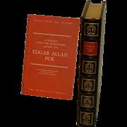 Edgar Allen Poe Leather Bound Book Franklin Library