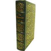 SALE The Federalist 1787-1788 Leather Bound Easton Press Collectors Edition