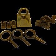 Antique Brass Nautical Items