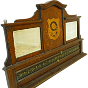 REDUCED Antique Billiards/Snooker/Pool Scoreboard