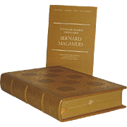 SALE Leather Bound Book, Bernard Malamud, The Magic Barrel, Idiots First Collectors Edition