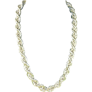Sterling Silver Large Rope Chain/Necklace