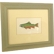 Fish Water Color Hand Painted