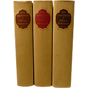 Shakespeare Comedies, Tragedies Histories 3 Volume Set
