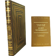 Kurt Vonnegut Leather Bound Franklin Library Collectors Edition