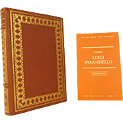 Luigi Pirandello, Stories Leather Bound Franklin Library