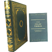 Dylan Thomas, Leather Bound Book Collectors Edition