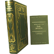 Isak Dinesen Leather Bound Book Collectors Edition