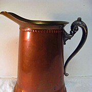 Copper Rochester Pitcher Lined
