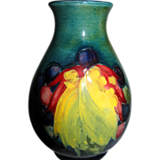 Colorful Moorcroft Vase
