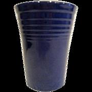 Vintage Cobalt Blue Fiesta Water Tumbler Fiestaware