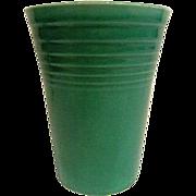 Vintage Fiesta Green Water Tumbler, Fiestaware