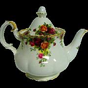 Royal Albert Old Country Roses Tea Pot