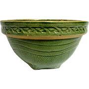 McCoy Green Yellow Ware Sunrise Mixing Bowl