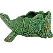 McCoy Green Turtle Planter