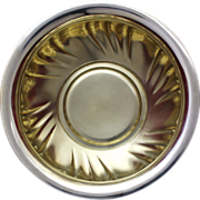 800 Silver Bowl With Gorgeous Swirl Design From  Northern Germany 285 Grams of 800 Silver