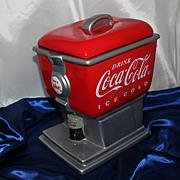 SOLD Coca Cola Cookie Jar Soda Pop Fountain Retro Coke Collectible