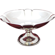 990 Sterling Toyokoki Compote With Hollow Base Unweighted 990 Almost Pure Silver