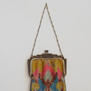 SALE Whiting and Davis Mesh Purse