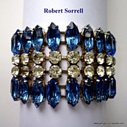 REDUCED Robert Sorrell Rhinestone Bracelet