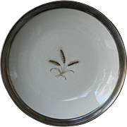 Rosenthal Wheat Pattern Sterling Rim Bowl