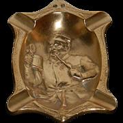Brass Advertising Ash Tray
