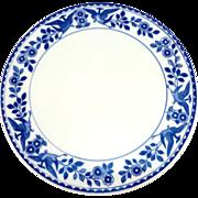 Noritake 'Twin Phoenix' Porcelain Trivet, ca.1906