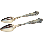Ca. 1907 Wallace Silver Plate 'Cardinal' Pattern Fruit/Orange Spoon