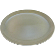 Russel Wright 'Casual' Pattern Oval Platter for Iroquois China, Oyster Gray