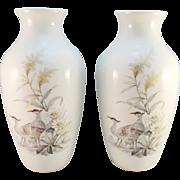 Pair of A K Kaiser Porcelain 'Nautika' Vases, K. Nossek Design
