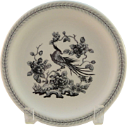 Syracuse China Restaurant Ware Phoenix Bird Bread Plate