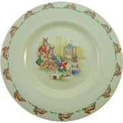 "Royal Doulton Bunnykins 8"" Plate"