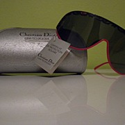 SALE Christian DIOR 80s AMAZING  Sunglasses  still with TAGS!