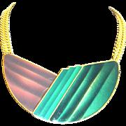 """TRIFARI 70"""" Enamel Clip Necklace"""