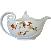 SALE Hall Autumn Leaf Aladdin Teapot