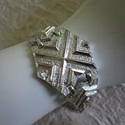 REDUCED Vintage Sarah Coventry Mod Silver Tone Bracelet ~ REDUCED!