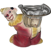 Shawnee JoJo the Clown Candle Holder, Small Planter, Figurine