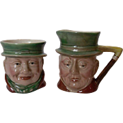 Beswick of England Dickens Characters Creamer and Sugar Set