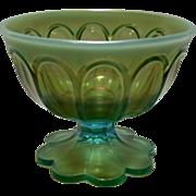 REDUCED Rare Northwood Aqua Opalescent Sugar Bowl