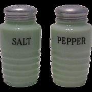 SOLD Jeanette Jadeite Salt And Pepper Set