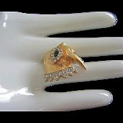 SALE Tiny KJL, Kenneth J Lane Walrus Figural Pin