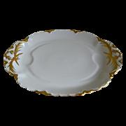 SALE Haviland Limoges Large Oval Footed  Platter 1894 - 1931