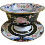 Morimura, Nippon Mayonnaise / Condiment Bowl with Plate, 1911 - 1921