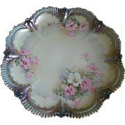 Stunning R S Prussia Plate, 1880's -1917