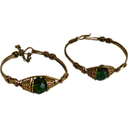 Twin Infant or Toddler bracelets, 1920's