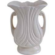 Hull Pottery Mardi Gras Vase with Granada Handles, USA, 1938 -1950