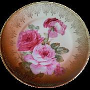 Empire Zeh Scherzer & Co. Bavaria Plate, 1880 - 1918