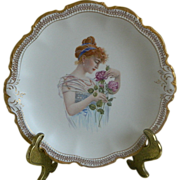 Steubenville Empire China Portrait Plate
