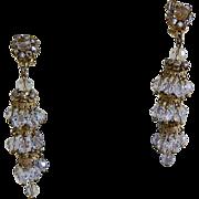 Hard to Find Demario-Hagler Clip-on Earrings, 1960's